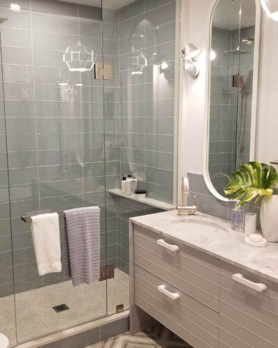 Sarah Richardson Design - Sarah Off the Grid Season 2) - Master Bathroom Shower Enclosure
