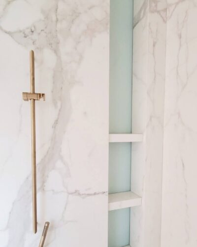 Frosted Glass Niche Wall