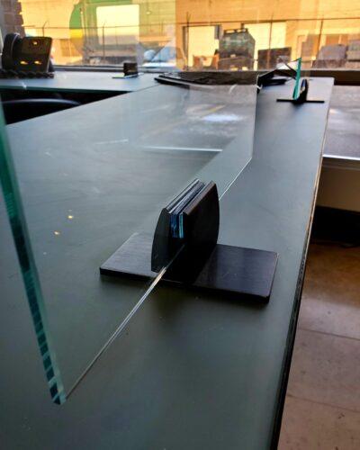 GLASS CLAMP - MATTE BLACK