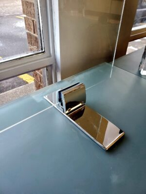 GLASS CLAMP - CHROME
