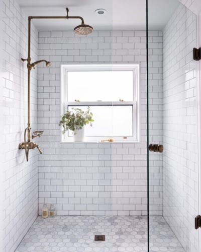 Alison Williams Design - Glass Shower
