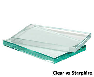 CLEAR GLASS VS. LOW IRON STARPHIRE