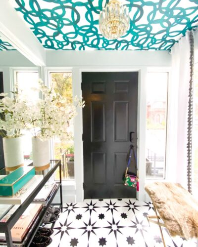 Amanda Aerin Design/The Marilyn Denis Show - How To Decorate A Small Space - Mirror Wall - November 2020