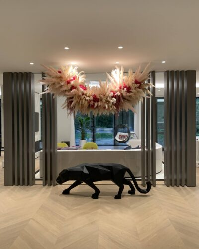 Starphire Glass Wall Partition