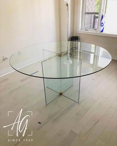 Custom-Made Tabletop & Base