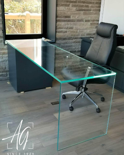 Custom Glass Desktop