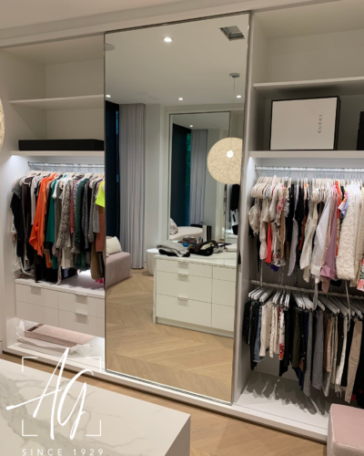 Closet Slider - Mirror Panel
