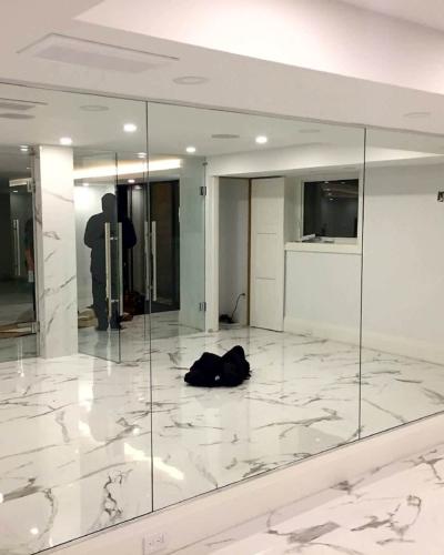 Mirror Wall - Gym
