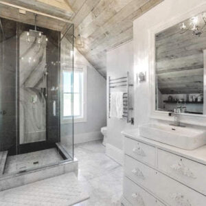 Photo Credit: Kate Builds - The Big Blue Bathroom - Youtube Series