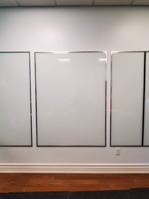 Backpainted Glass - White Board