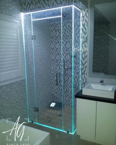 Custom LED Shower