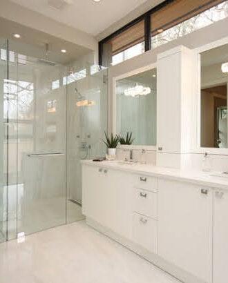 Adanac Glass - Vanity Mirror & Shower Glass Photo Credit: Barbini Reno