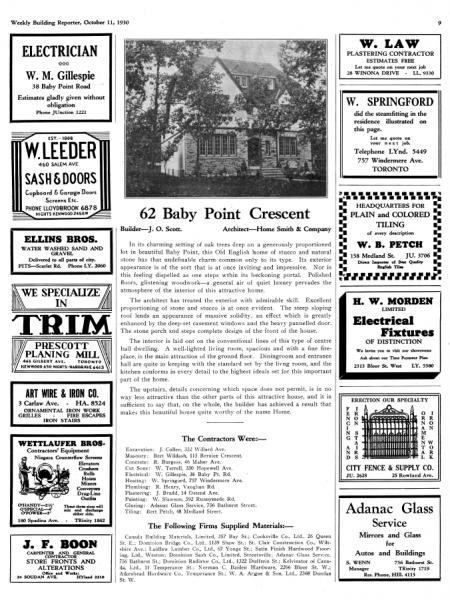 1930 - ADVERTISEMENT
