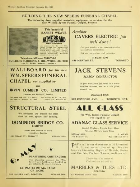 1933 - ADVERTISEMENT