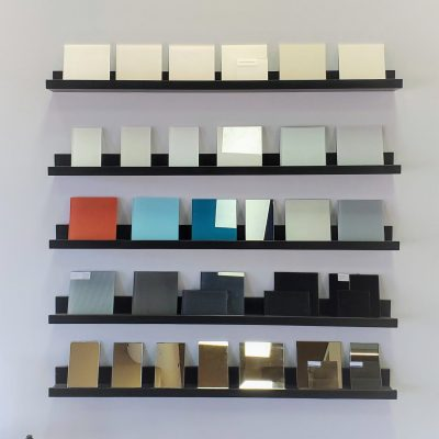Backpainted Glass & Mirror Samples