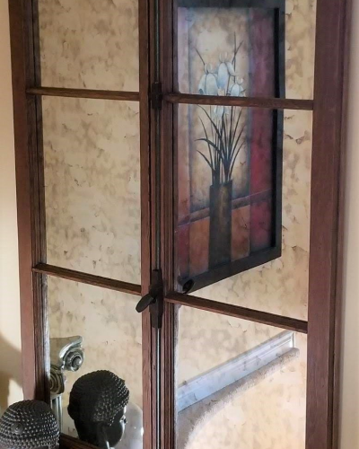 Antique Mirror Inlay (Customers Own Framing)